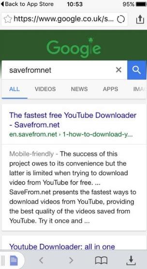 Как скачать видео с Ютуб на айфон
