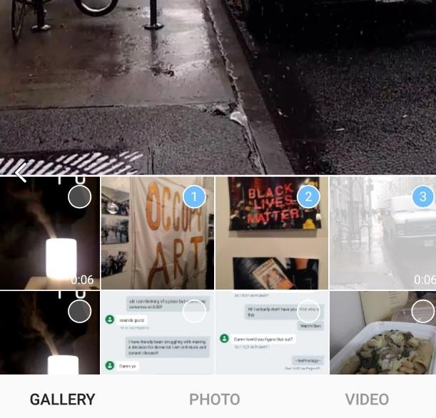 Как выложить несколько фото в Инстаграм