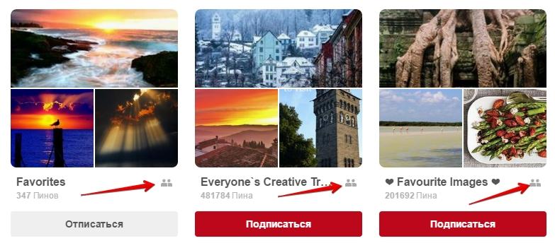 Раскрутка Pinterest