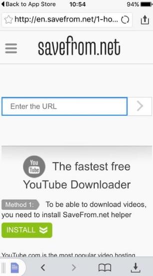 Как скачать видео с Ютуба на iPad